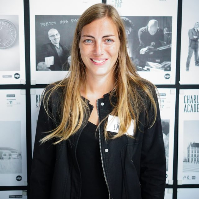 Emilie - Bénévole @Eden Charleroi