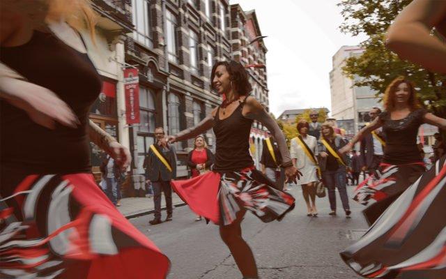 Bouger dans la rue @Charleroi Danse