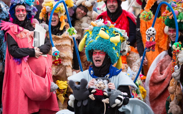 Grande Parade - Carnaval Charleroi 2020 @ Eden Charleroi