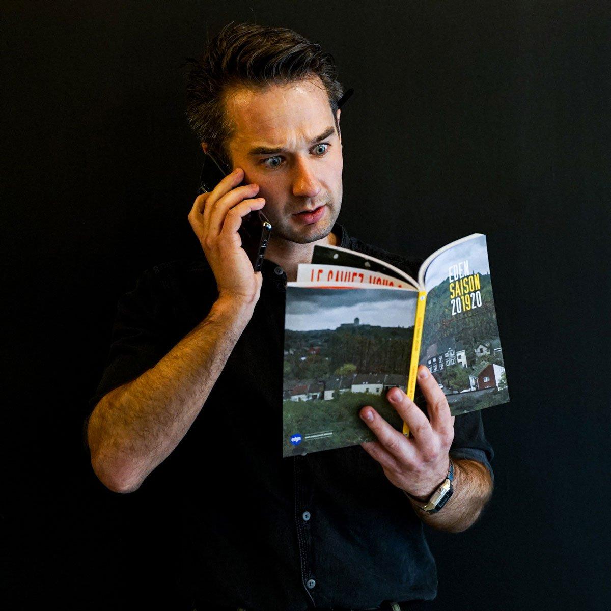 Arnaud Baugnée - Coordinateur de la communication - Eden, Centre Culturel de Charleroi