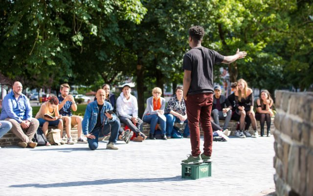 Speaker's Corner, paroles, liberté d'expression, hyde park, londes, slam, Eden, Centre culturel de Charleroi