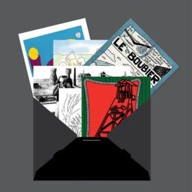 cartes, cartes postales, idée cadeau, Nicolas Belayew, Hélène Drenou, Morgane Le Ferec, Rébecca Moreau Zieba, Jules Rousselet, Harrisson, Hélène Bedouet, le paradis c'est ici, Eden, Centre culturel de Charleroi