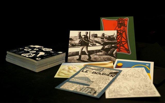Cartes Postales, Nicolas Belayew, Hélène Drenou, Morgane Le Ferec, Rébecca Moreau Zieba et Jules Rousselet, carolopostale, Harrisson, Eden, Centre culturel de Charleroi, Le Paradis c'est ici