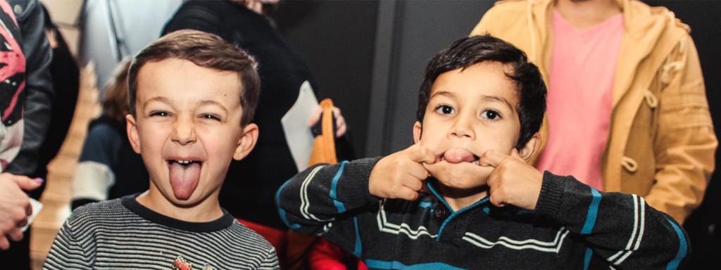 Mise en bouche, atelier, Carnaval, stage, jeune public, enfant, Theâtre de la Guimbarde, Eden, Centre culturel de Charleroi © Aurélie Clarembaux