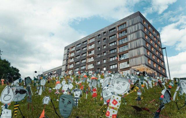 Petite foule, CEC Eden Charleroi © Aurélie Clarembaux