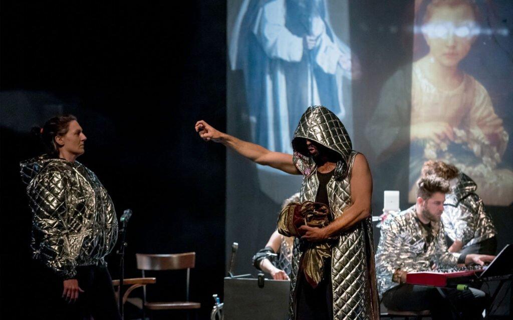 King Arthur, Clef des Chants/Cie Dérivation, Arthur, théâtre, © Frederic Iovino, ©Eden  Centre culturel de Charleroi