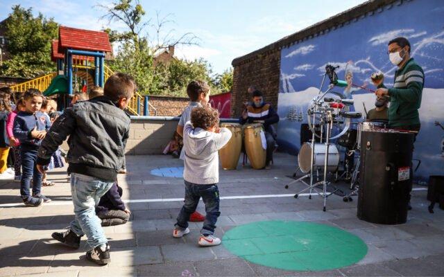 rentrée en musique, ramdam à l'école, artistes, concert, fête, écoles, élèves, enfants, jeunesse, éducation permanente, Eden | Centre culturel de Charleroi